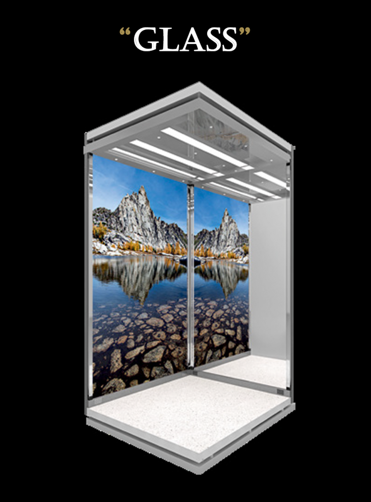 glass dhalift cabin